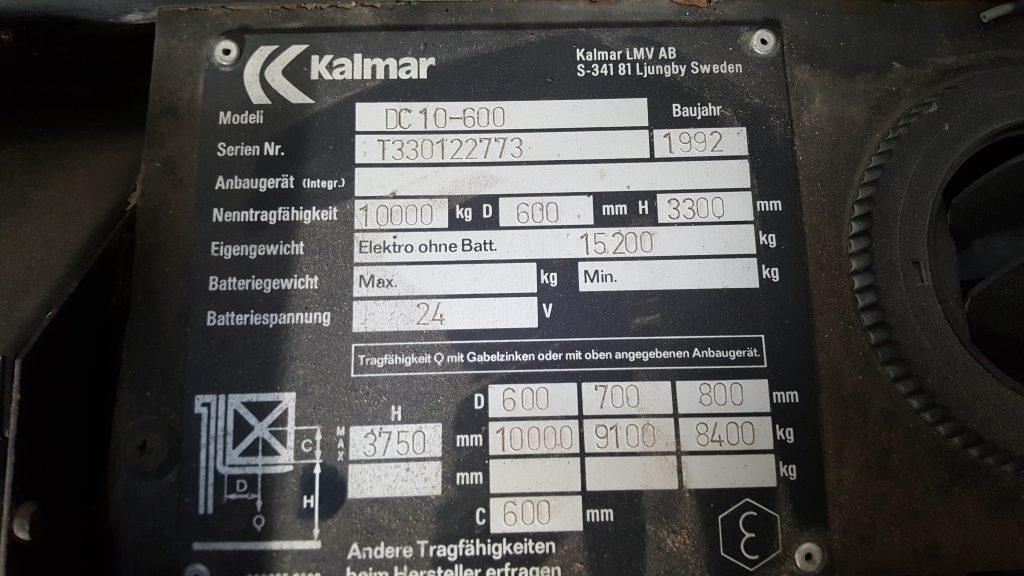 KALMAR DC10-600-6