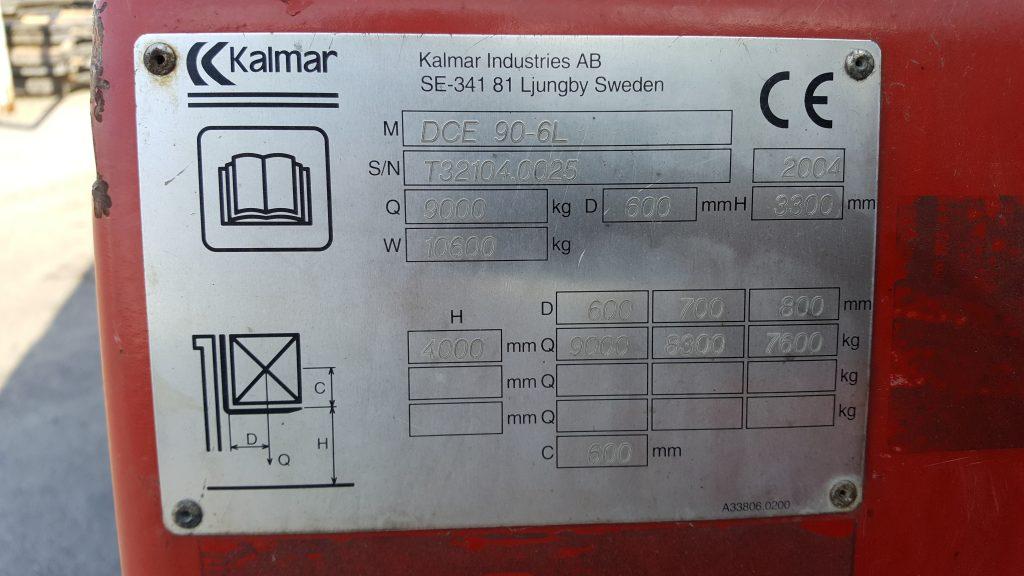 KALMAR DCE90-6L-5