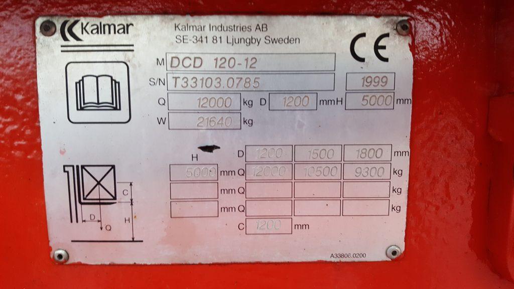 KALMAR DCD 120-12-10